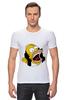 "Футболка Стрэйч (Мужская) ""Homer Simpson"""