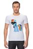 "Футболка Стрэйч (Мужская) ""My Little Pony - Rainbow Dash (Радуга)"" - радуга, pony, rainbow dash, mlp, пони"