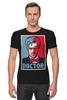"Футболка Стрэйч (Мужская) ""Доктор Кто (Doctor Who)"" - doctor who, доктор кто"
