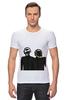"Футболка Стрэйч ""Daft Punk - Electoma "" - робот, электроника, daft punk, kinoart, electroma"