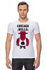 "Футболка Стрэйч (Мужская) ""Chicago Bulls"" - баскетбол, bulls, бык, chicago bulls, чикаго буллз"