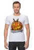 "Футболка Стрэйч (Мужская) ""Helloween"" - хэллоуин, helloween"