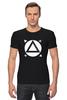 "Футболка Стрэйч ""tracker t-shirt"" - кино, tracker, зеленый экран, keing, tracking"