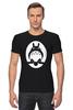 """Футболка Стрэйч """"Totoro (Тоторо)"""" - тоторо, totoro, мой сосед тоторо"""