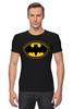 """Футболка Стрэйч (Мужская) """"Batman (8-bit)"""" - batman, бэтмен, пиксели, 8-бит, 8-bit"""