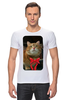 """Футболка Стрэйч """"Рыжий """" - кот, котэ"""
