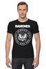"Футболка Стрэйч (Мужская) ""Ramones"" - панк, ramones, рамонес, joey ramone"