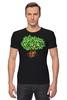"""Футболка Стрэйч (Мужская) """"iCalistini The Life Tree Дерево Жизни"""" - счастье, tree, дерево жизни, icalistini"""