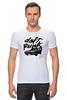 """Футболка Стрэйч """"Daft Punk """" - французский, daft punk, дафт панк, томасом бангальтером"""