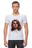 """Футболка Стрэйч (Мужская) """"Lana del Rey"""" - стиль, рисунок, портрет, lana, лана дель рей"""