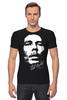 "Футболка Стрэйч ""Bob Marley"" - регги, боб марли, reggae, ska, jamaica, cка"