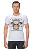 """Футболка Стрэйч """"Oblivion"""" - череп, ангел, дизайн, oblivion, забвение"""