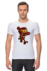 """Футболка Стрэйч """"Бомбермэн (Bomberman)"""" - iron man, бомбермэн, bomberman, жедезный человек"""