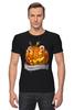 """Футболка Стрэйч (Мужская) """"Хэллоуин"""" - хэллоуин, helloween"""