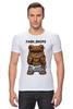 """Футболка Стрэйч (Мужская) """"Fash_Shops SWAG"""" - медведь, swag, миша, fash"""