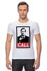 "Футболка Стрэйч (Мужская) ""Лучше звоните Солу (Better Call Saul)"" - obey, call, better call saul, лучше звоните солу"