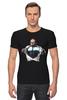"Футболка Стрэйч ""Путин - Супермен"" - супермен, superman, россия, политика, путин, президент, putin, путин арт, патриотические футболки, футболки с путиным"