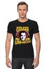 "Футболка Стрэйч (Мужская) ""Sheldon Cooper (Шелдон Купер)"" - the big bang theory, теория большого взрыва, шелдон купер, sheldon cooper"