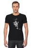 "Футболка Стрэйч ""Jean Paul Belmondo"" - портрет, актер, kinoart, belmondo, жан-поль бельмондо"