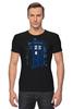 """Футболка Стрэйч """"Тардис"""" - doctor who, доктор кто, тардис, police box"""