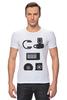 "Футболка Стрэйч ""Store"" - музыка, apple, musiс, диск, наушники, плеер, клавиши, mp3, cd, headphones"