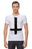 "Футболка Стрэйч (Мужская) ""Крест"" - крест, cross, атеизм"