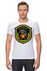 "Футболка Стрэйч ""Беркут"" - эмблема, символика, беркут"