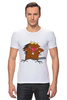 "Футболка Стрэйч (Мужская) ""The Angry Beavers"" - бобер, бобры, крутые бобры, the angry beavers"