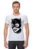 "Футболка Стрэйч (Мужская) ""Женщина-кошка (Catwoman)"" - batman, бэтмен, женщина-кошка, catwoman, dc comics"