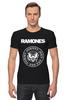 "Футболка Стрэйч (Мужская) ""Ramones "" - punk, панк, ramones, рамонес, joey ramone"