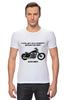 "Футболка Стрэйч (Мужская) ""Harley-Davidson Sportster"" - мото, harley-davidson, харли-дэвидсон, чоппер"
