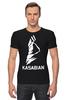 "Футболка Стрэйч (Мужская) ""Kasabian"" - музыка, music, rock, kasabian, касабиан"
