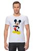 """Футболка Стрэйч """"Микки Маус"""" - арт, ретро, дисней, mickey mouse"""