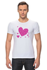 "Футболка Стрэйч """"LOVE"""" - праздник, сердце, любовь, розовое, девушке, девочке, сердечки"