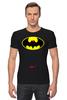 """Футболка Стрэйч (Мужская) """"Dead Batman"""" - batman, бэтман"""