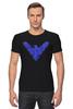 "Футболка Стрэйч (Мужская) ""Найтвинг (Nightwing)"" - dc comics, найтвинг, nightwing"