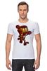 "Футболка Стрэйч (Мужская) ""Бомбермэн (Bomberman)"" - железный человек, iron man"