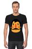 "Футболка Стрэйч (Мужская) ""Борода X"" - борода, усы, beard, mustache"