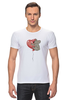 """Футболка Стрэйч """"коала"""" - сердечко, воздушный шар, коала"""