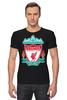 """Футболка Стрэйч """"Liverpool (Ливерпуль)"""" - football, uk, ливерпуль, liverpool, футбольный клуб"""