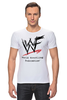 "Футболка Стрэйч (Мужская) ""WrestleMania"" - wwe, wrestling, wwf, рестлинг, wrestlemania"