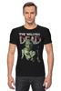 "Футболка Стрэйч ""The Walking Dead"" - zombie, зомби, ходячие мертвецы, the walking dead"