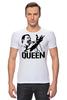"Футболка Стрэйч ""Freddie Mercury - Queen"" - queen, фредди меркьюри, freddie mercury, куин, rock music"