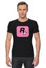 """Футболка Стрэйч """"I'M Rockstar"""" - games, игры, игра, game, gamer, rockstar, рокстар, rockstar games, игроки, игрок"""