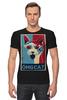 """Футболка Стрэйч """"ОМГ Кот (The omg cat)"""" - кот, cat, omg"""