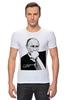 """Футболка Стрэйч """"Владимир Путин by Hearts of Russia"""" - путин, президент, putin, сердцароссии, karavev"""