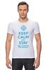 "Футболка Стрэйч (Мужская) ""Stay best Mom in the world "" - 8 марта, мама, keep calm, международный женский день, mom"