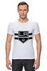 "Футболка Стрэйч (Мужская) ""Лос-Анджелес Кингс "" - хоккей, nhl, нхл, los angeles kings, лос-анджелес кингс"