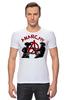 """Футболка Стрэйч """"Punks Not Dead"""" - punks not dead, анархия, панк, панк рок, anarchy"""
