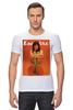 """Футболка Стрэйч """"Esquire / Дейзи Лоу"""" - девушка, ноги, мода, esquire, дэйзи лоу"""
